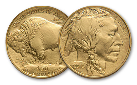 2010 Gold Buffalo Coin
