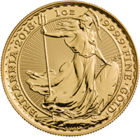 Britannia 1 oz Gold Coin