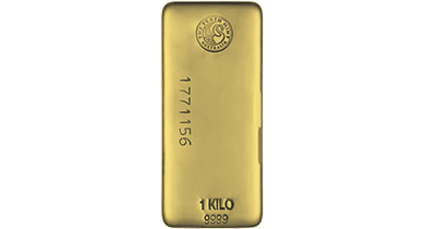 Gold Bullion Bar 1 Kg