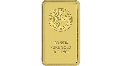 Gold Bullion Bar 10 Ounce