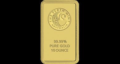 Gold Bullion Bar 10 Ounce