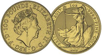 The British Gold Britannia