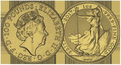 The British Gold Britannia
