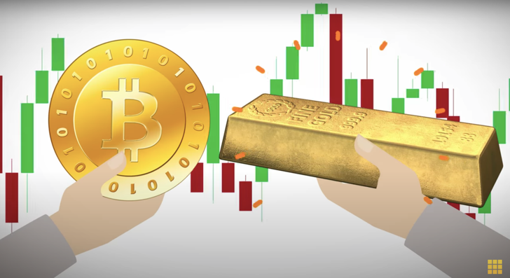 Buying gold with Bitcoin