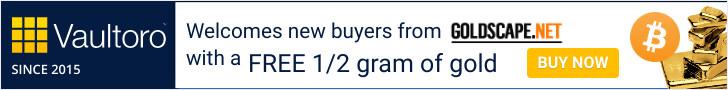 Vaultoro free gold offer